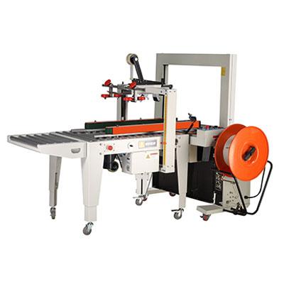 Strapping and Carton Sealing Machine