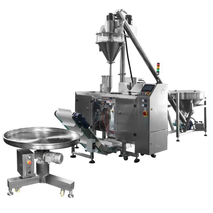 Auger & Mini DoyPack Machine Powder Line