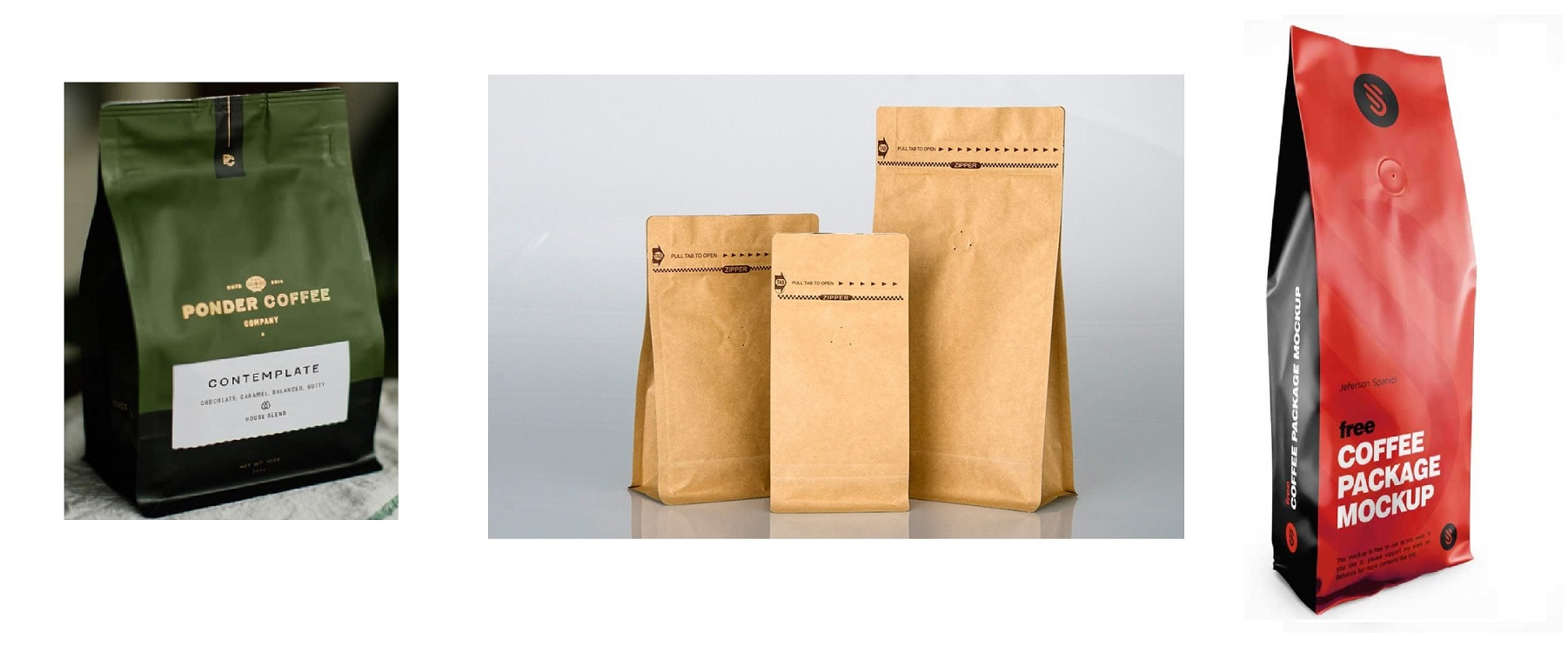 Coffee Bag with vent valve