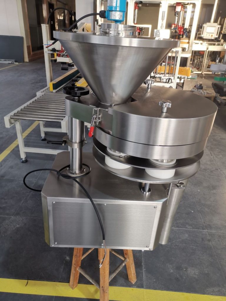 Rotary Volumetric Cup Filling Machine